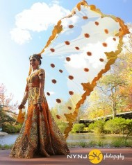Orange & Yellow Lehenga