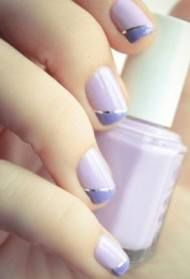 Lilac & Purple Nails