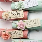 Personalised Mint Favours