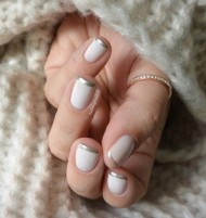 Silver Tipped Nails