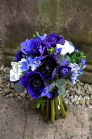 Something Bright Blue Bouquet