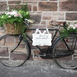 Vintage Floral Bicycle