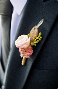 Whimsical Fisherman's Buttonhole