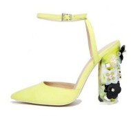 Yellow Performer Sandals