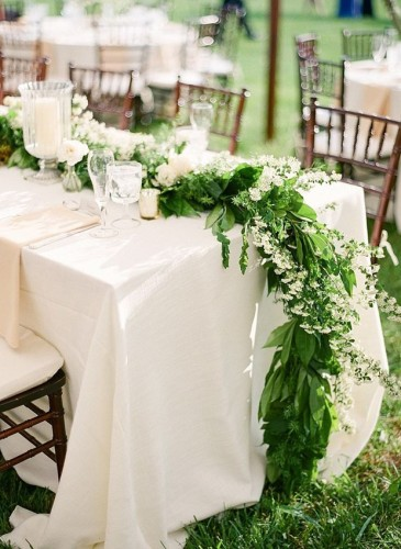 Foliage Table Runner 26th May 2015