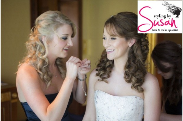 Wedding Make Up & Beauty - Styling by Susan